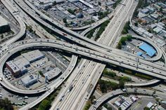 """The """"CHiPs Interchange"""" in Los Angeles, CA"""