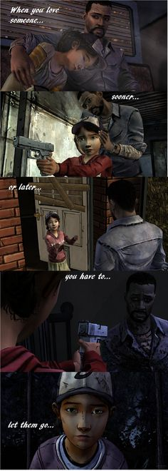 Telltale games: The Walking Dead. I love these games so much I had to make this! #MyClementine