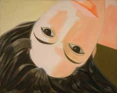 Alex Katz. Upside Down Ada. 1965. The Museum of Modern Art, New York. #art #portraiture