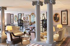 Fascinating 18th Century Parisian Interiors: La Maison Favart Hotel, interior has it own personality.