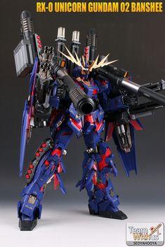 GUNDAM GUY: PG 1/60 Unicorn Gundam 02 Banshee - Customized Build