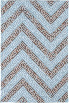 Create a beautiful indoor/outdoor space with this Matira Key rug. It features a dynamic Greek key pattern in a sophisticated light blue shade. The Matira collection from Kaleen is inspired by the beach and botanical surroundings. Throw Rugs, Polypropylene Design, Indoor Outdoor Area Rugs, Light Blue Area Rug, Greek Key Pattern, Blue Chevron, Indoor Outdoor Rugs, Kaleen, Rug Pad