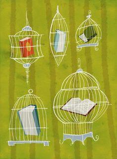 """""""Libros pueden ser peligrosos. El mejor debe etiquetarse """"esto podría cambiar tu vida..."""" Helen Exley"""