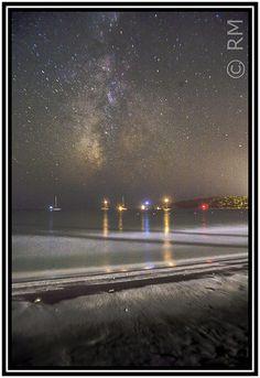 Summer Milky Way in Sardinia   by Risteard O'Saile Rihad Murogov