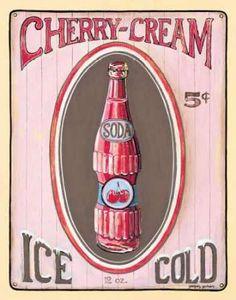 Cherry Cream by Gorham, Gregory