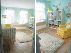 chambre jaune/bleu