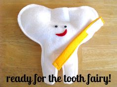 Kaylee recently lost her first tooth. She's in the big leagues now! This meant it was time to make her a tooth fairy pillow. Just like the ones I made her brothers when they were her age. Fro…