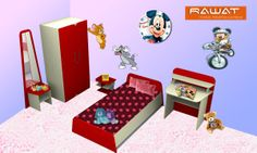 Give a fresh new look to your children's room with Rawat Furniture.