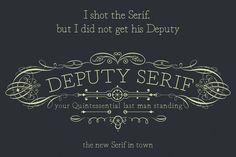 Deputy Serif by Black Bird Foundry on Creative Market