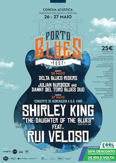 Porto Blues Festival, 26 & 27 May 2017