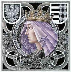 Jadwiga Polish Government, Polish People, Vice Versa, Old Portraits, King Queen, Royals, Aurora Sleeping Beauty, Disney Characters, Queens