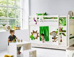 Jungle Play curtain picture