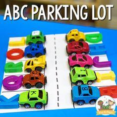 ABC Parking Lot Preschool Letter Activity - Pre-K Pages