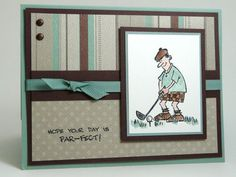 Masculine Card by Stamp Addict 77 - Cards and Paper Crafts at Splitcoaststampers
