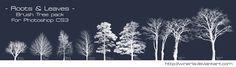 Tree Brush - Brushes Pack by Winerla.deviantart.com on @DeviantArt