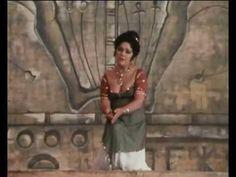 """Maria Bieşu - Ritorna vincitor (G.Verdi """"Aida""""). A fragment of a television musical film """"Oh, Maria!"""", 1984. Мария Биешу - Ария Аиды из 1-ого действия одноимённой оперы Верди. Фрагмент телевизионного музыкального фильма «О, Мария!», 1984 г."""
