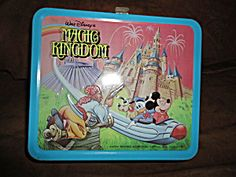 1979 Walt Disney Magic Kingdom Lunchbox w/Thermos