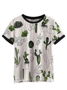 Cute Cactus T-Shirt #ad #cactus #cactusmania #cacti