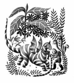 My Father's Dragon - Illustrations by Ruth Chrisman Gannett (1948)
