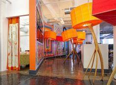 Kleurrijk kantoor