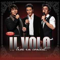 Il Volo...    I LOVE THESE GUYS.  it's like opera and classical trained voices singing pop influenced music :D