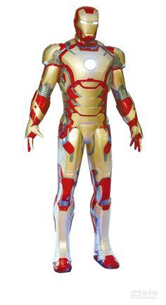 【鋼鐵人蜘蛛人衣 一拳可穿牆】  鋼鐵人是電影中的英雄,也是人類軍武目標。(本報資料照片)