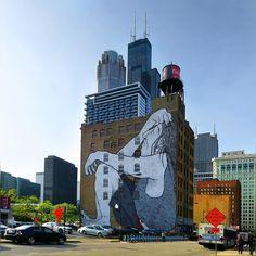 so I gotta pass by this street art on Monday after work to make sense outa my life ... totally amusing ;) #Chicago  #StreetArt #StreetGraffiti #Graffiti #SummerFeel #Pretty #Morning #June2017 #Spring2017 #HappyMonday #LovelyMorning #CoolSide #Art #SummerColors #BlueSkies