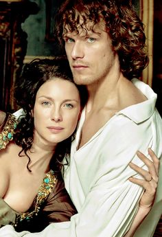 Sam Heughan and Caitriona Balfe in exclusive EW portraits from Outlander, Season Outlander News, Outlander Season 4, Outlander Quotes, Outlander Book Series, Outlander Casting, Jamie Fraser, Claire Fraser, Jamie And Claire, Sam Heughan Et Caitriona Balfe