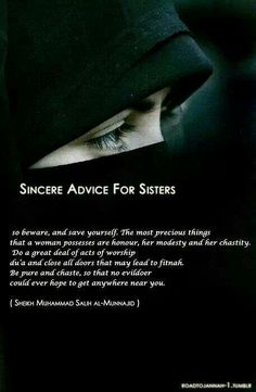 what are the Traditional manners of Muslim women in Islam? list of bad manner, etiquette and good manners, victorin manner books and quranmualim. Islamic Qoutes, Islamic Inspirational Quotes, Muslim Quotes, Religious Quotes, Hijab Quotes, Turban, Islam Religion, Islam Beliefs, Islam Hadith