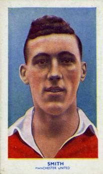 1939 R & J Hill Famous Footballers Series 1 #5 Jack Smith Front