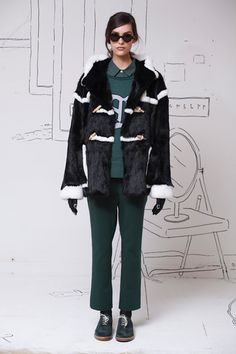Band of Outsiders Fall 2014 Ready-to-Wear Collection Slideshow on Style.com