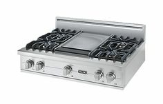 "36"" Custom Sealed Burner Rangetop - VGRT - Viking Range Corporation"