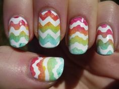 Gradient Easter Egg Nail Art Tutorial