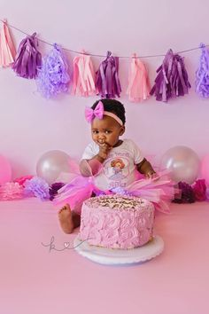 Beautiful little Afika came for her session on her actual birthday! She looked like such a little princess in her tutu, and this one knew how to throw out some fierce poses! Unfortunately, Afika wa… Cake Smash, Little Princess, Photographs, Birthday, Baby, Beautiful, Birthdays, Cake Smash Cakes, Photos