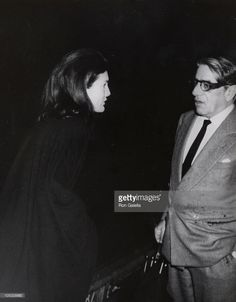 Jackie Kennedy Onassis and Aristotle Onassis during Jackie Onassis and Ari Onassis Sighting - January 1, 1970 at La Cote Basque in New York City, New York, United States.