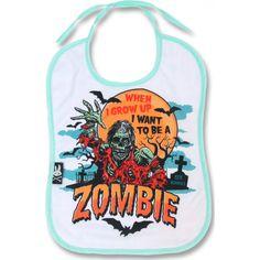 Six Bunnies - Zombie Bib