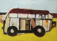 """Driving a Bus"" by Richard Silva 