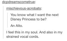 I mean, I'm a soprano so for the most part I'm good. But this is still hilarious