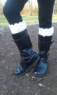 Crochet Creations - Girls Boot Cuffs