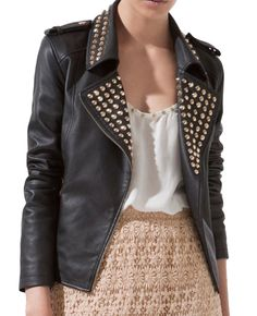 Zara Leather Jacket $299 - 5 Faves for Fall on InStyle