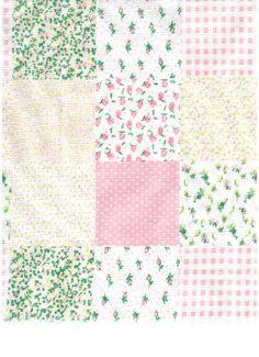 patchwork rosa - IB90 - Panoah