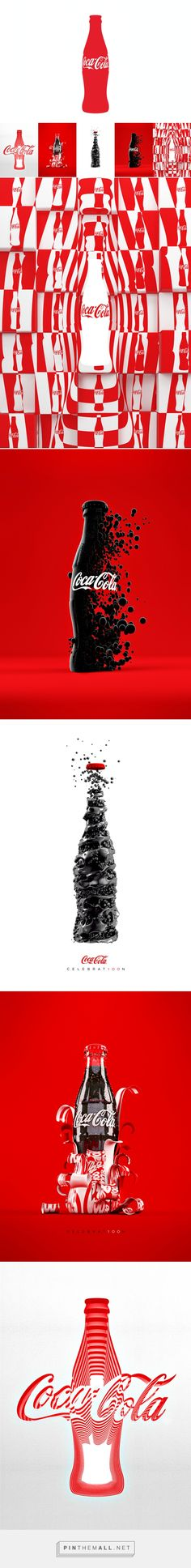 MashUp Coke on Behance curated by Packaging Diva PD. Stellar Coke packaging design concepts PD