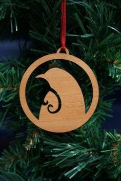 Set of 3 Kiwi Christmas Decorations