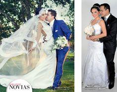NOVIOS Y NOVIAS - Fabiana Barrero y Juan López Foto: Imagen Real - Yuvinka Torrico y Miguel Angel Huarachi Foto: Imágenes Pro