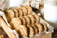 Packet INSTANT OATMEAL CEREAL cookies need less sugar, fewer eggs and shorter, or even no cooking time. Use the packets to make Instant Oatmeal no-bake cookies on the stovetop. Instant Oatmeal Cookies, Instant Oatmeal Recipes, Oatmeal No Bake Cookies, Oatmeal Cookie Recipes, Raisin Cookies, Cereal Cookies, Cookie Recipes From Scratch, Delicious Cookie Recipes, Baking Recipes