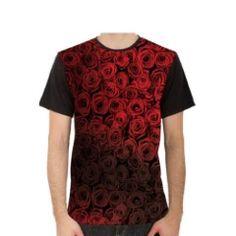 Black Roses -  Sublimated Men's T-Shirt $18 found on Trendingprints.com