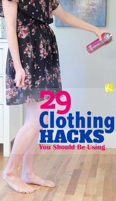 29 Clothing Hacks You Should Be Using