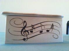 Large Wood Burned Box. Any design you want for $45.00, via Etsy.