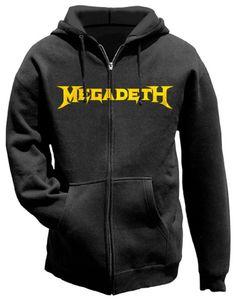 Megadeth Logo Hoodie