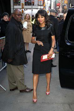 Olivia pope ABC Scandal Star Kerry Washington Style Premier.